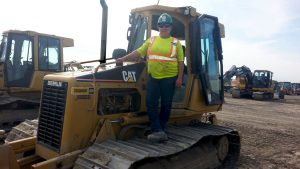 Heavy equipment operation a family tradition for Roy