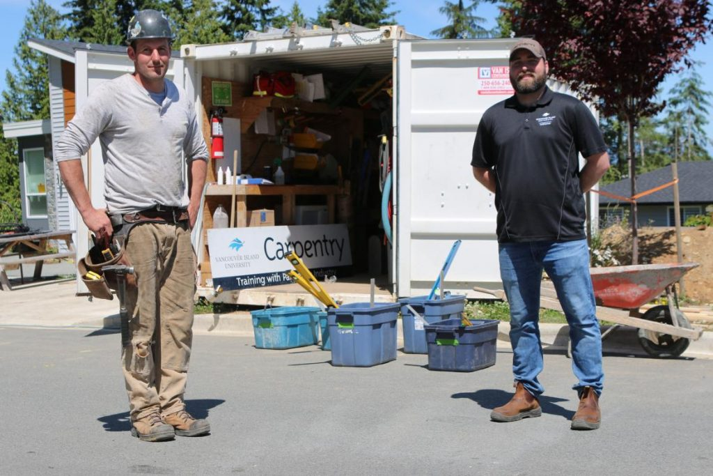 Vancouver Island University gives students jobsite experience