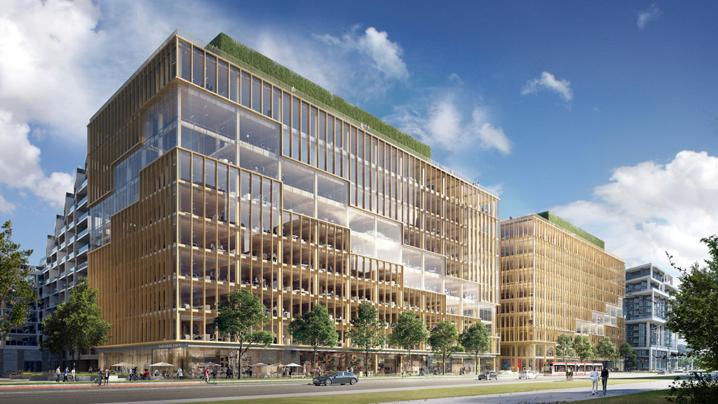 Hines and Waterfront Toronto break ground on T3 Bayside