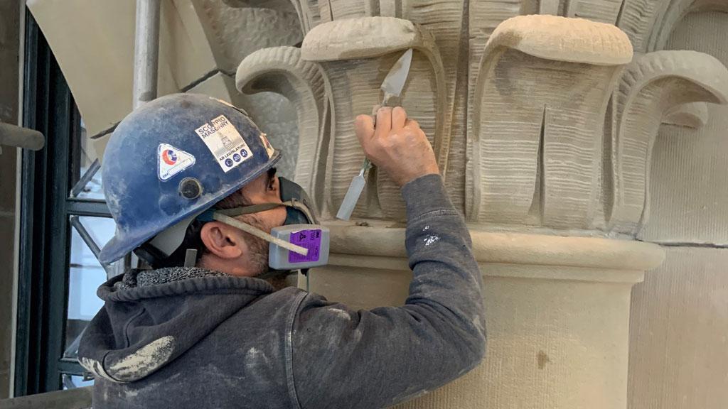 Alberta legislature restoration a 'once in a lifetime' project