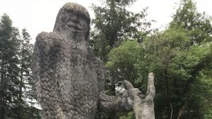 The world's biggest Bigfoot: concrete sasquatch stands 22 feet
