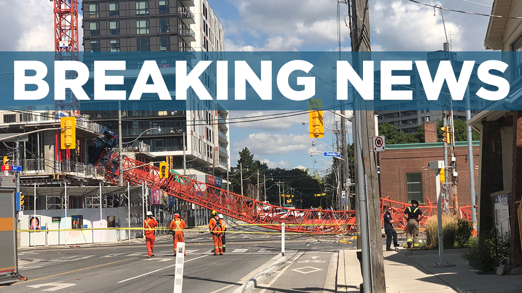 UPDATE: Mechanical failure caused Toronto crane collapse, reports Daniels