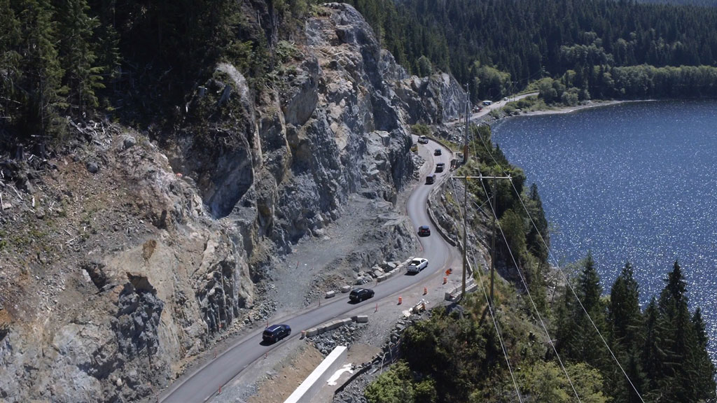 Blasting schedule changes for Vancouver Island highway project
