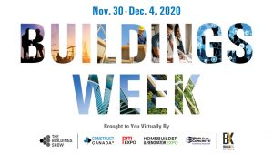 Informa embraces online Canada-wide construction event with Buildings Week