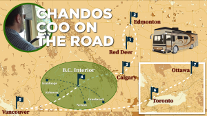VIDEO: A cross-country COVID odyssey with Chandos COO Sean Penn