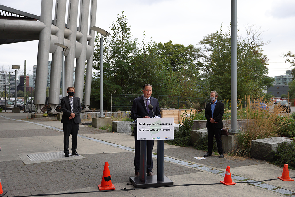 British Columbia and federal government invest in False Creek energy upgrade