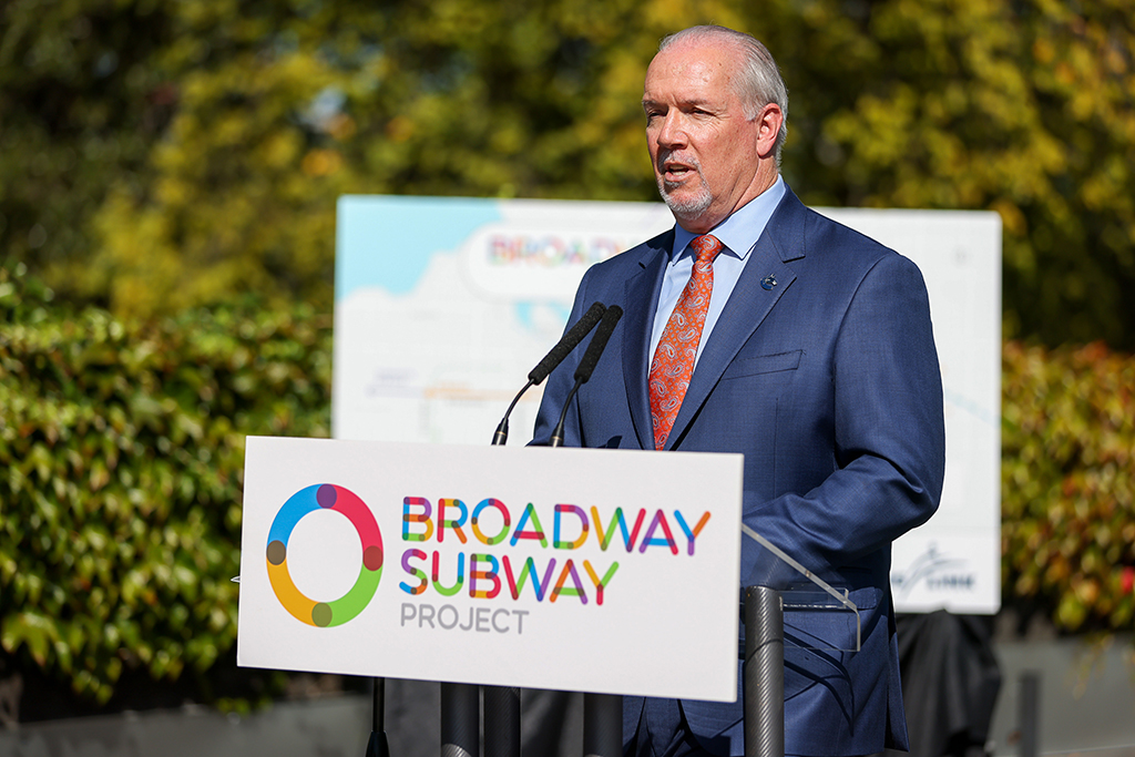 B.C. government awards $1.7-billion Broadway Subway contract