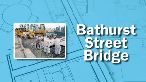 PHOTO: Bathurst Bridge Work