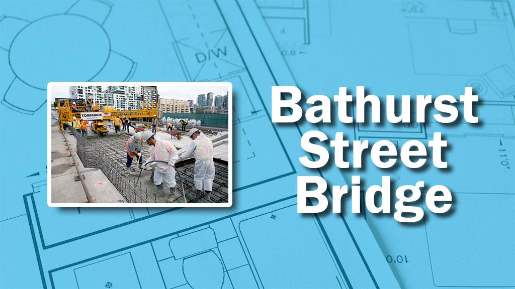PHOTO: Bathurst Bridge Work