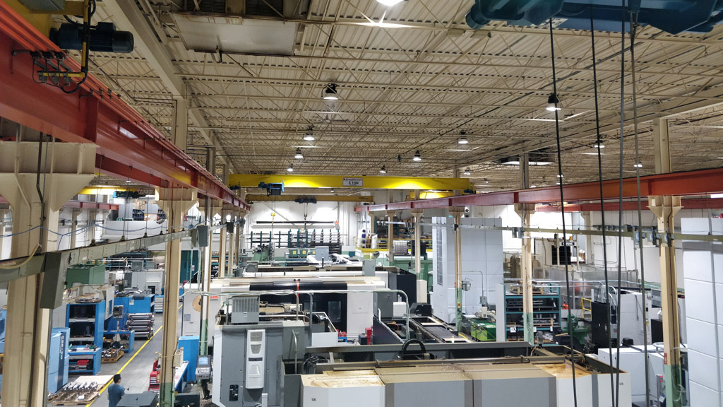 EcoGrid and LHM Technologies partner to replace lighting in manufacturing facility
