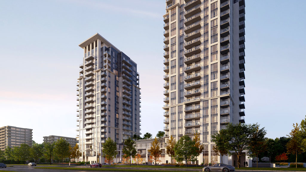 Kaneff launches two towers in Mississauga City Centre