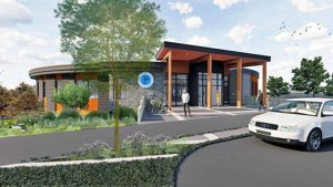 Sooke starts construction on new library