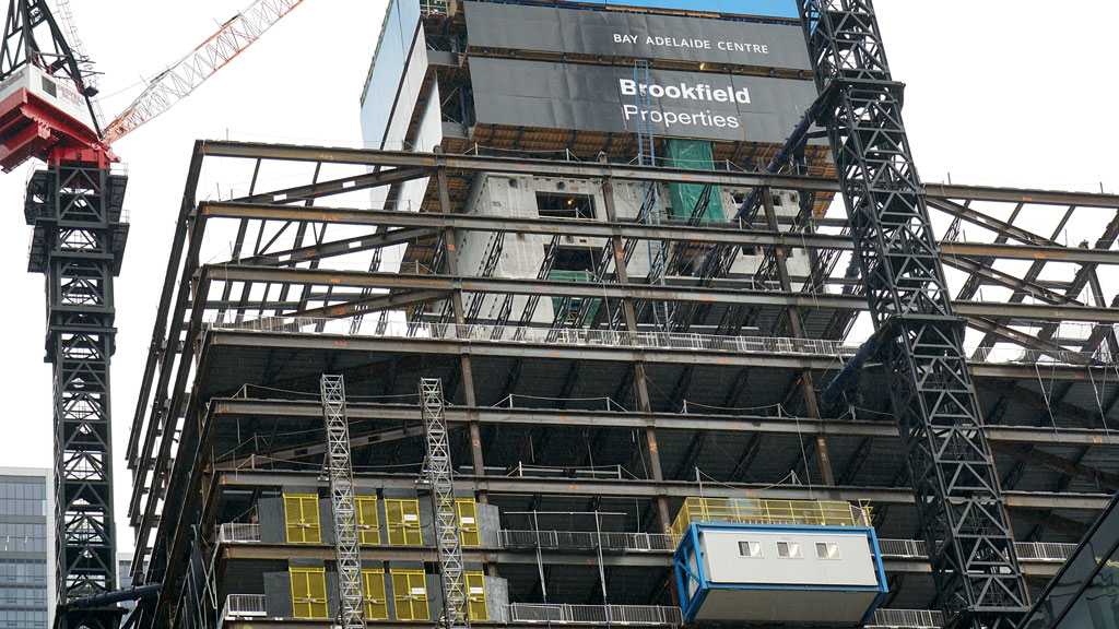 Toronto tower projects a shining example of climbing system techs