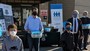 RESCON donates PPE to community groups and charities