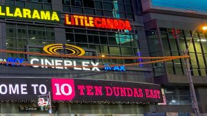 Toronto's Little Canada installs sign