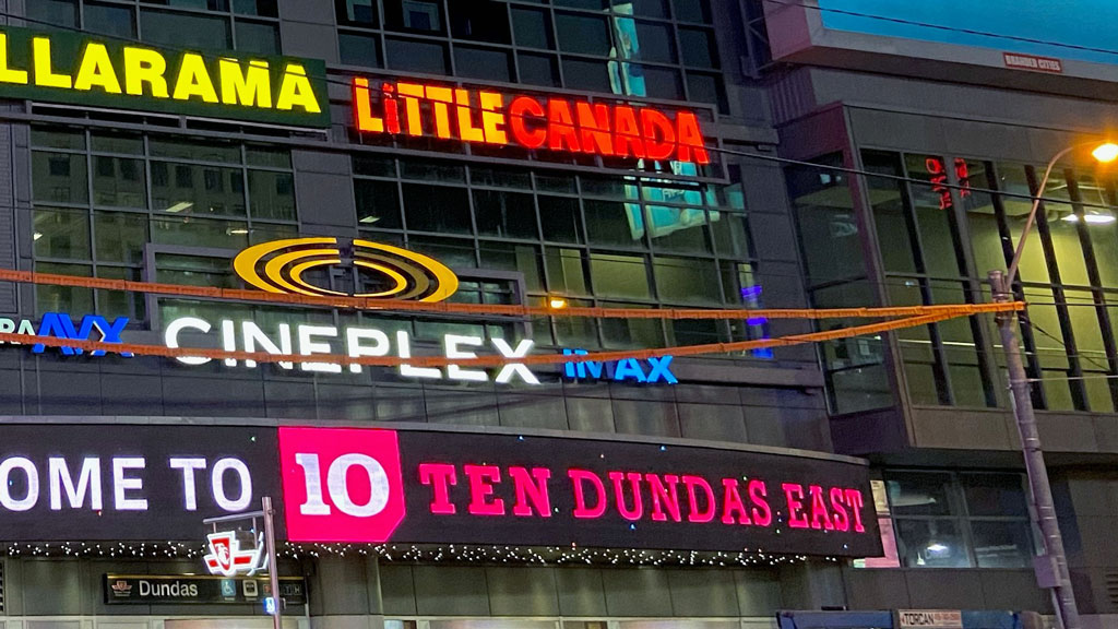 Toronto's Little Canada installs sign