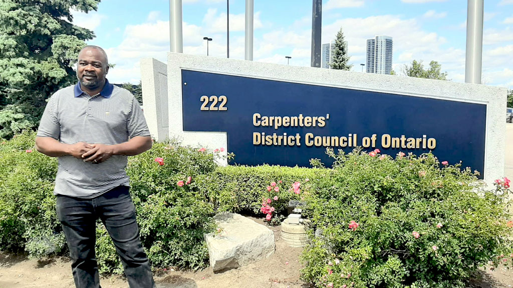 Campbell of the Carpenters' Union assumes new equity, diversity role