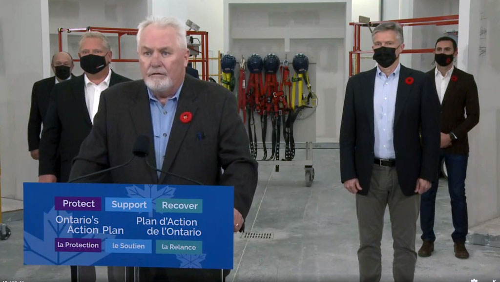 Remembrance Day 2020: Ontario boosts support for Helmets to Hardhats