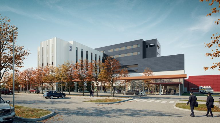 Corner Brook Acute Care Hospital in Newfoundland won a Project Development silver award for the Government of Newfoundland and Labrador, the Western Regional Health Authority and the Corner Brook Health Partnership for a new 164 bed acute care regional hospital.
