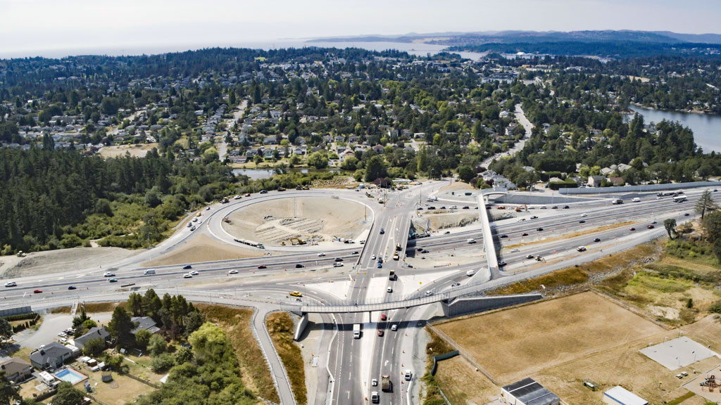 Improvements complete on notoriously busy and crash-prone Vancouver Island intersection