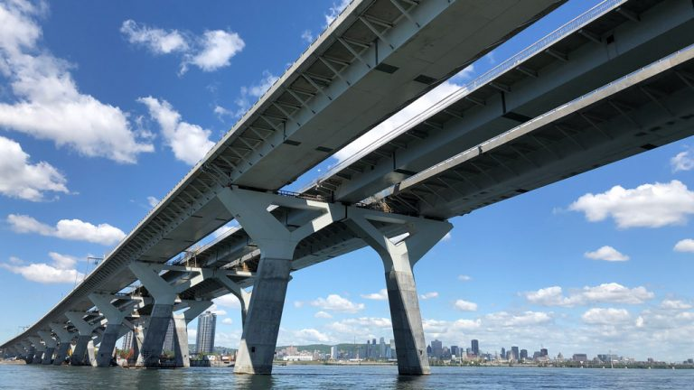 SNC-Lavalin worked on the Samuel De Champlain Bridge in Montreal, Que. The CEO of SNC- Lavalin and other CEOs gave their thoughts on the Canadian construction market at the Canadian Council for Public-Private Partnerships' annual conference held online this month.
