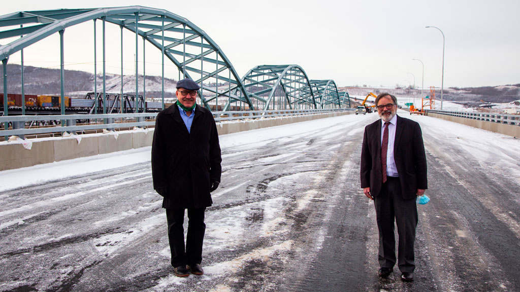 Alberta opens new bridge over Peace River
