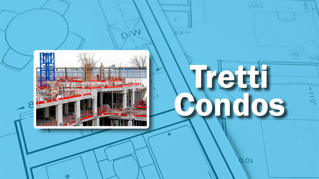 PHOTO: Tretti Condo Construction