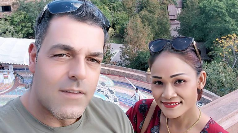 Andrew Orfanakos of Newmarket, Ont. died in an incident on a construction site in Toronto Dec. 14. Orfanakos, 48, married wife Saiyud a year ago.