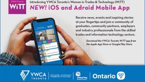 YWCA Toronto launches new Women in Trades and Technology app