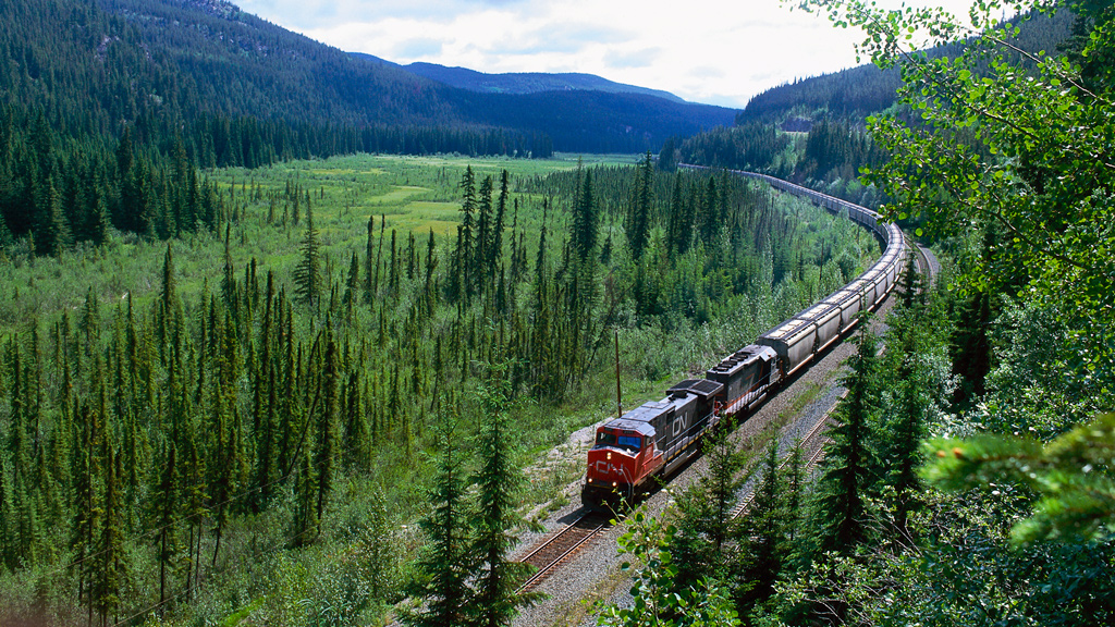 Rail infrastructure improvements funded for Alberta