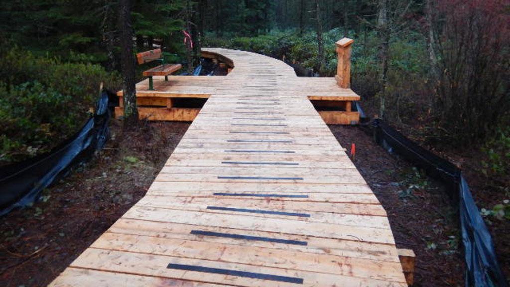Delta boardwalk improvements completed