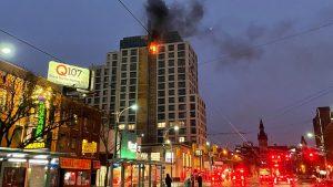 Fire at Toronto condo development under construction