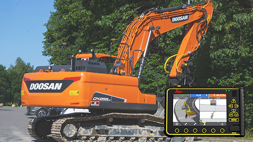 New Leica-ready kit introduced by Leica Geosystems and Doosan