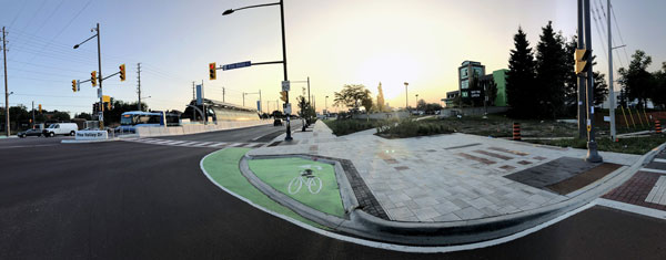 The VIVA Streetscape Redevelopment in Vaughan was the winner in the infrastructure category of the 2020 Ontario Concrete Awards, presented virtually this year on Dec. 2. The project involved the construction of the transit centre median, concrete walls, curbs, paving as well as reconstruction of the pedestrian boulevard including concrete walkways and curbs.