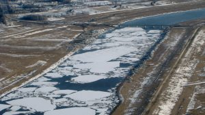 Ice-jam breaking contract awarded in Manitoba