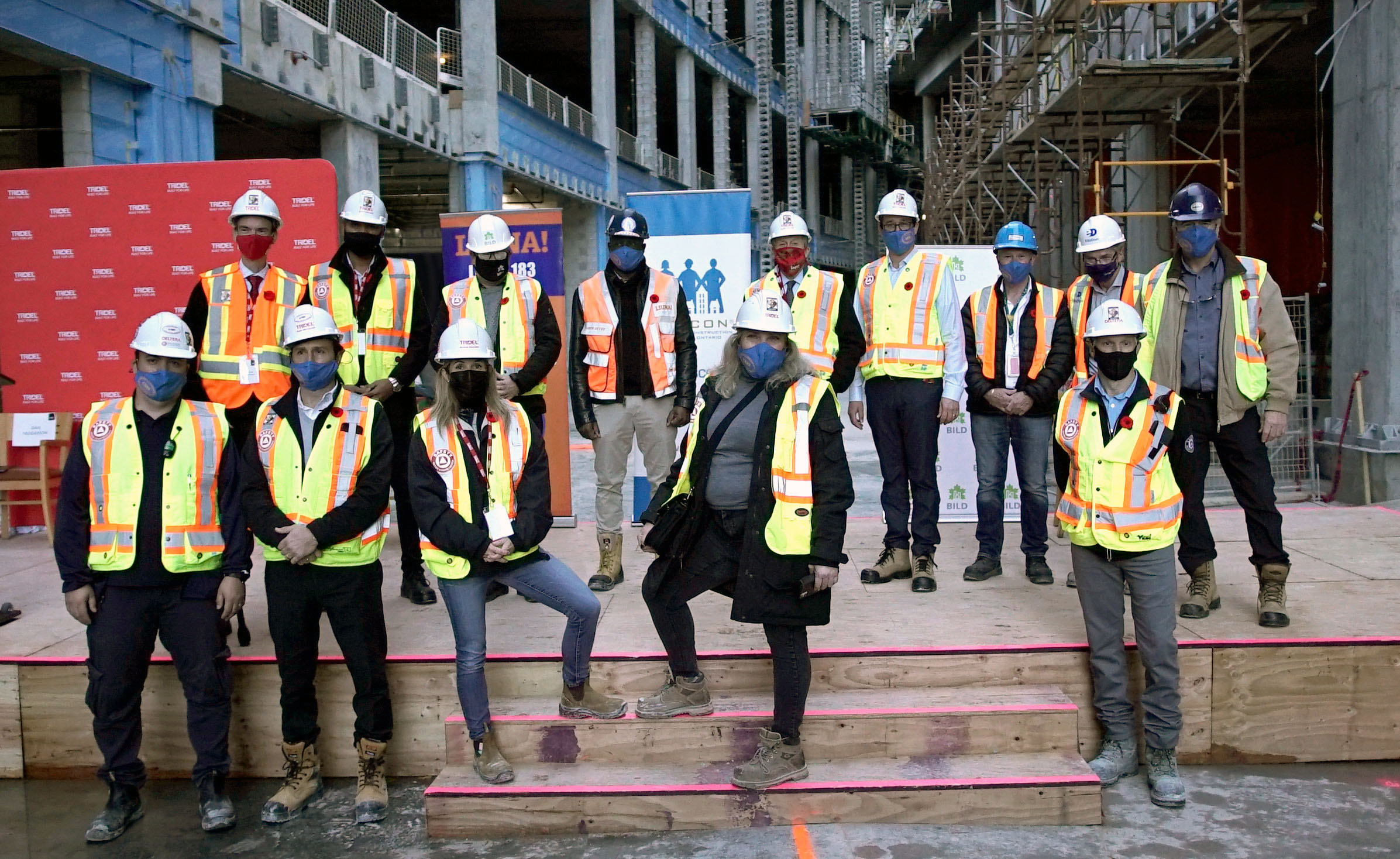 Tridel kicked off the Built for Respect campaign in partnership with EllisDon, the Labourers' International Union of North America Local 183, the Residential Construction Council of Ontario and the Building Industry and Land Development Association, to tackle and eliminate racism within the construction industry