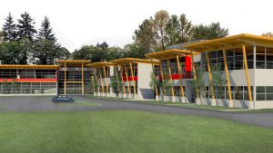 Work finishes on North Vancouver school project with a seismically safe building