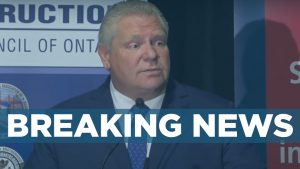 BREAKING: Ford announces closing of non-essential construction