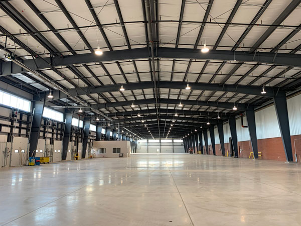Fluke Transportation is currently nearing completion of a 56,000-square-foot expansion of a warehouse facility at Pier 15 in the port of Hamilton.