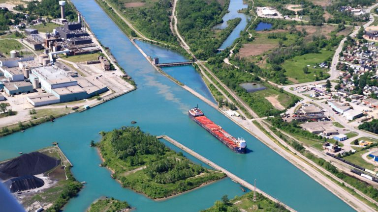 The Hamilton-Oshawa Port Authority ventured into the Niagara region to expand its operations with two sites in Thorold along the Welland Canal targeted for shipping and development opportunities.