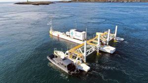 Fundy tidal power project nears finish line