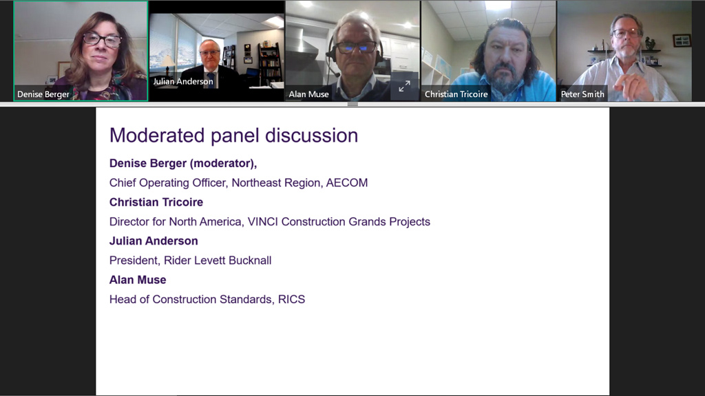 RICS conference panel: Finding meaning in mountains of data