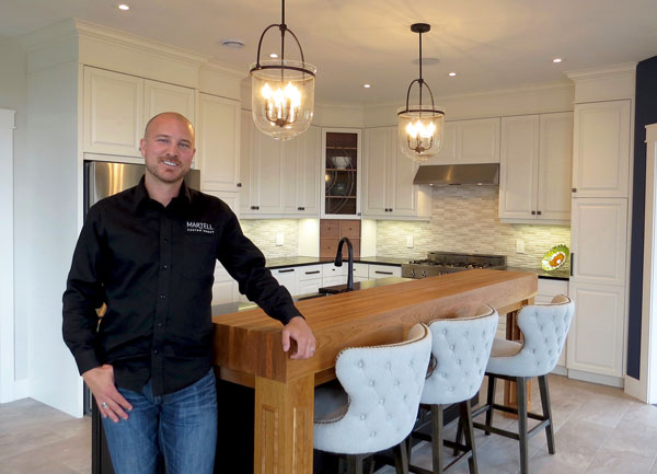 Pierre Martell, owner of Martell Custom Homes, is the co-founder of Build for the Future, which is a group of 10 construction and building-related companies in Moncton, N.B. who are opening their wallets to raise $1 million over a decade to potentially help marginalized young people.