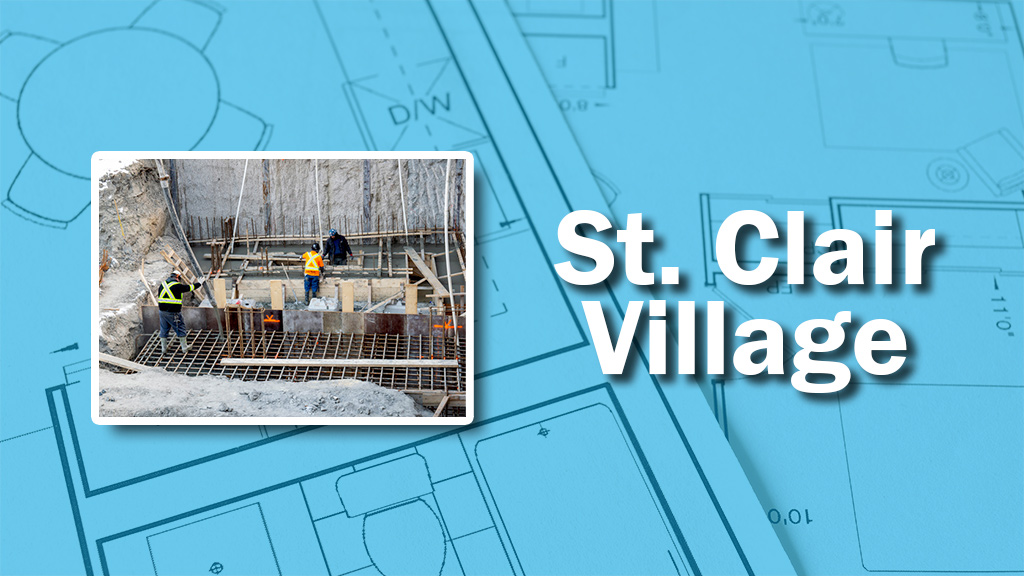 PHOTO: St. Clair Village Concrete