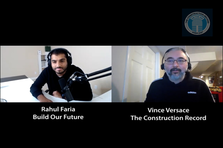 VIDEO: TCR Episode 105 – CrossPod with Rahul Faria of the Build Our Future podcast