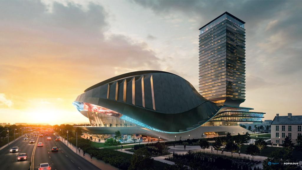 OverActive media unveils plans for $500 million performance venue at Exhibition Place