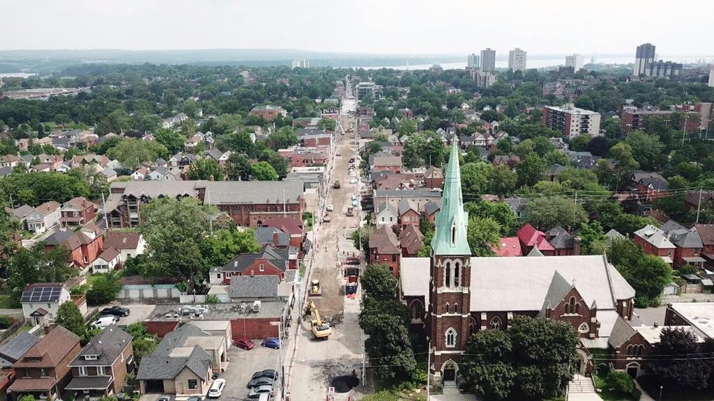 City of Hamilton wins OPWA Award for Locke Street reconstruction