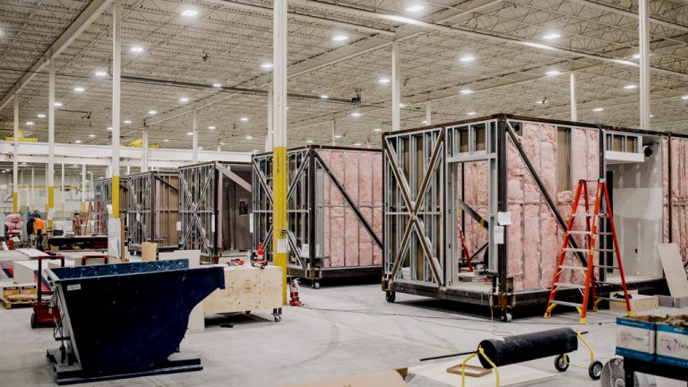 The new group EllisDon Community Builders will take advantage of access to EllisDon's 300,000-square-foot modular manufacturing plant in Hamilton, Ont. that can ship housing modules across the country.