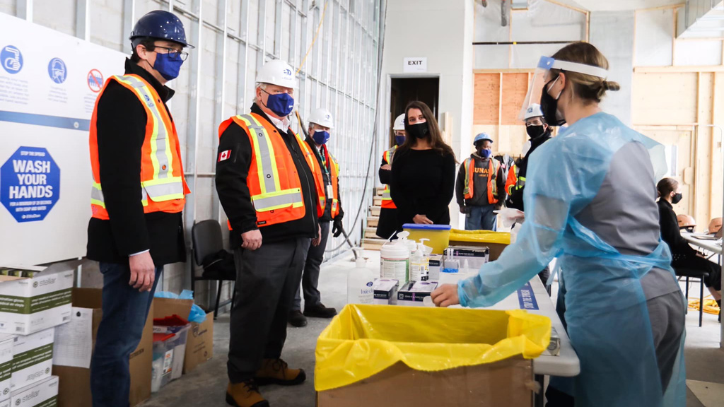 Ontario plans major surge in rapid tests on jobsites starting in March