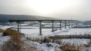 Highway 29 corridor work along the Peace River continues to flow at multiple sites